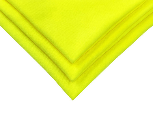 100% cotton FR High Visibility knitted fabric